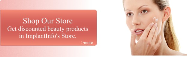 Save on beauty products with the ImplantInfo Store.