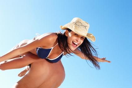 Breast Implants Bikini